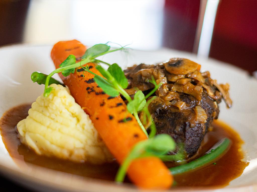 Steak, Carrots and Tats